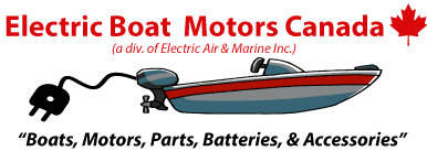 Electric Boat Motors Canada - Your Source for Electric Boat Motors, Parts & Accessories