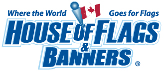 House of Flags & Banners - Flags Vancouver Logo