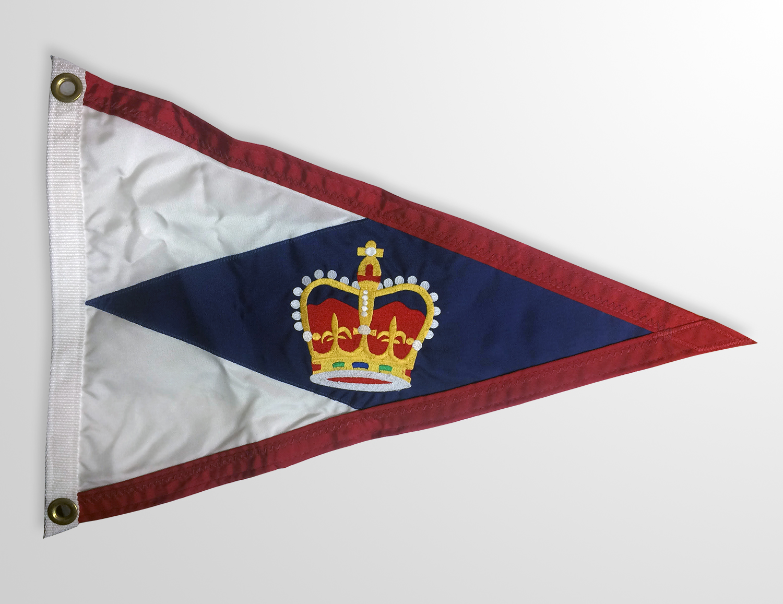Cuatom Boat Flags Canada, Custom Burgee Flags, Triangle & Rectangle
